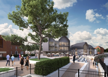 Taunton Regeneration - Coal Orchard - Riverside Development