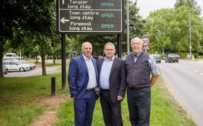 High tech parking signs unveiled